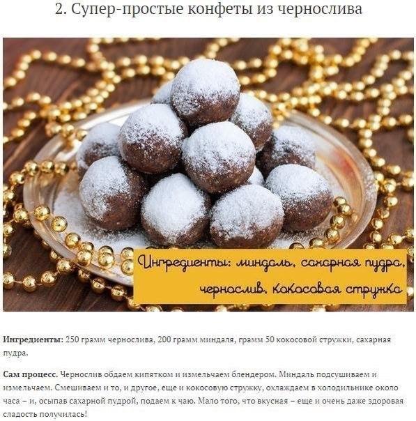 Домашние конфеты рецепты простые и вкусные леденцы