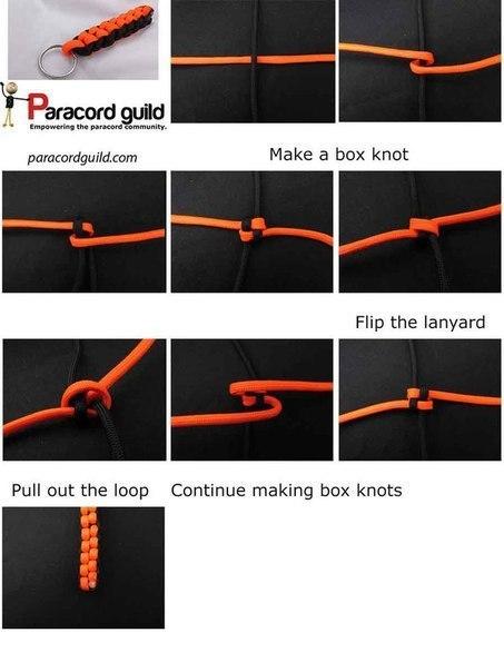 Плетем из паракорда. Собраны самые популярные и простые методы.