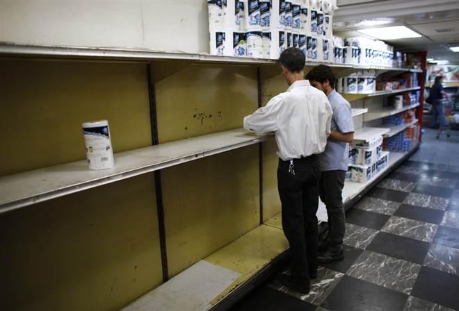 Венесуэльцам запретили покупать продукты чаще двух раз в неделю