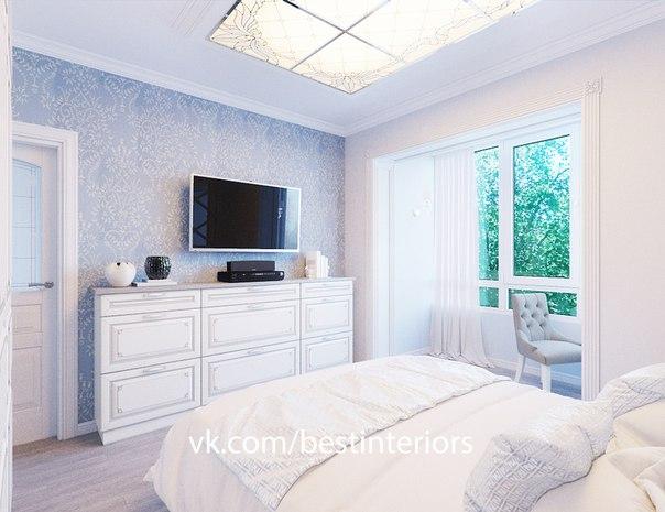 маленькая спальня с компьютерным столиком на присоединенном балконе...