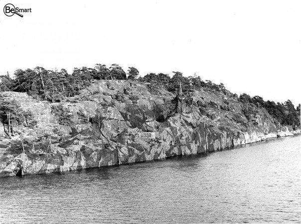 Замаскированный корабль Шведских ВМФ