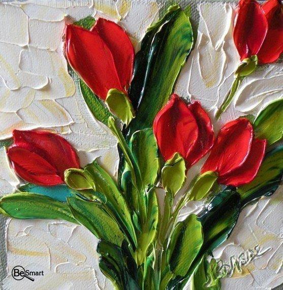 Тюльпаны маслом