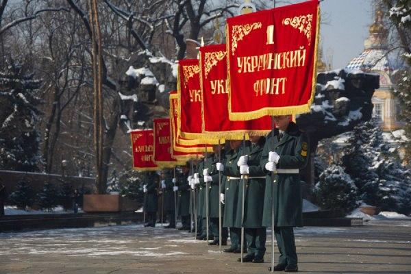 Торжественное шествие «Нас Миллионы Панфиловцев»
