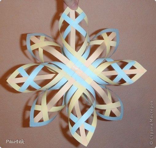 Делаем снежинки из бумаги своими руками фото