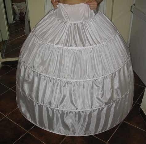 Как сделать обруч под платье своими руками 83