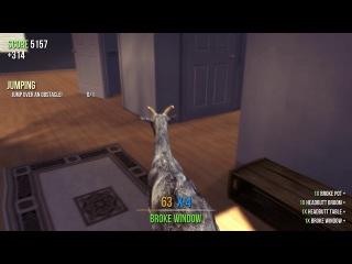 Goat Simulator (Бешеная Коза ) Прохождения 1 часть