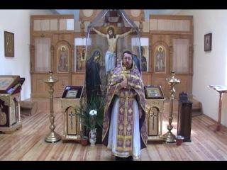 Слово в Неделю Торжества православия.Священник Игорь Сильченков