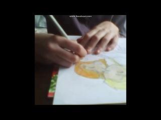Рисунок Анна и Эльза