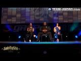 Kai Greene Dana Linn Bailey & Nathalia Melo Seminar Loaded Cup 2014