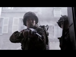 Band Of Brothers [Телесериал: Братья по оружию] Carentan Attack (Super High Quality)