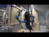 SCHAFT - DARPA Robotics Challenge 8 Tasks   Special Walking