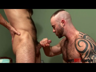 Hard Brit Lads - Justin King and Guy Rogers