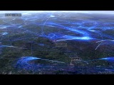 Визуализация авиатрафика над Европой