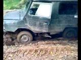 луаз 969 1.6 дизель по глинистой почве и с лысой резиной!!!