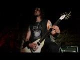 Выступление black металлической группы Netherbird в клубе Альбион
