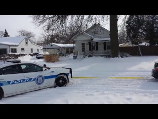 Subaru Impreza WRX pulls out stuck Police Officer