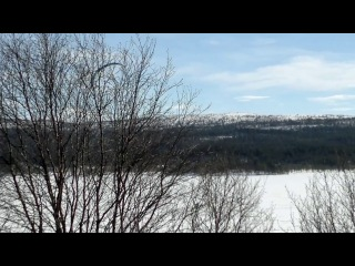 Саша Володько.Озеро Кильдинское.2014-04-10-2