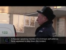 Ukraine crisis- unidentified gunmen seen inside Crimea army base_HD