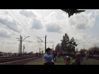 Awesome Low Pass of Ukrainian Mig-29, over Slovyansk (Ukraine Crisis)