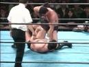 [#My1] Akira Maeda vs. Nobuhiko Takada - UWF Fighting Network Nagoya (10.11.1988)