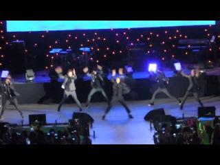 [FANCAM] 140503 EXO-M @ 12th Korean Music Festival in LA - Wolf (1)