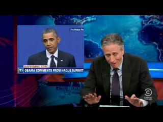 Daily Show о ситуации в Крыму (Перевод Бочарова)