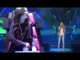 Pia - Wrecking Ball Miley Cyrus - The Voice Kids 2014 Germany - Blind Audition