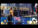 Ієромонах Фотій монах Михайлівського Золотоверхого монастиря на сцені Євромайдану 19 12 2013