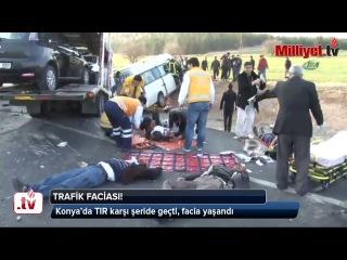 Türkiyədə avtobus aşıb, 9 ölü, xeyli yaralı var