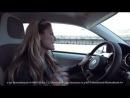 Sophia Thomalla testet den Volkswagen e-up!