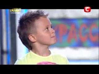 Мальчик взорвал зал на шоу талантов в Украине