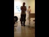 Роман Мнацаканов и Павел Куприянов. Ночь в музее. Галерея Виктория. Стихотворение