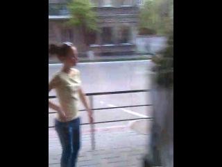 нашла зеркало на улице, да не простое, а с под*бом