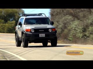 Автомобиль Toyota FJ Cruiser (Тойота FJ Крузер). Видео тест-драйв