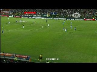 Либертадорес 2014 Универсидад де Чили Реал Гарсиласо 2 тайм