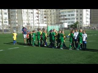 приветствие команд Медведи ДЮСШ №3 Шебекино 12.06.14