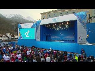 Награждение в Сочи 2014 - биатлон 6км