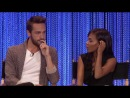 Sleepy Hollow - Nicole Beharie & Tom Mison on their Relationship