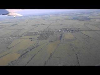Boeing-737 Калининград - Москва. Взлёт из аэропорта Храброво