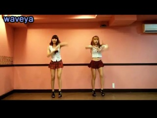 T-ara+roly+poly+dance+tutorial+#+waveya