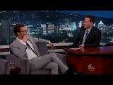 Jimmy Kimmel 2014 02 19 Matthew McConaughey с субтитрами