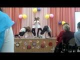 классный танец от Анжелики и девчонок
