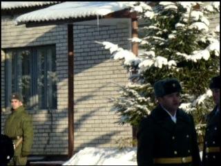 Прощание с боевым знаменем войсковой части 44085. Часть прекратила свое существование и на ее базе был создан Учебный центр Военной академии связи им. Буденного