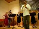 Maña Maña - ансамбль гобоев исполняет сальсу