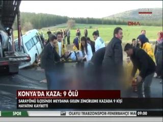 Türkiyədə avtobus aşıb, 9 ölü, xeyli yaralı var-1