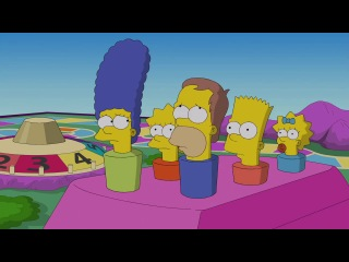 The Game of Life Couch Gag from 'Pay Pal' - THE SIMPSONS - ANIMATION on FOX