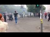 Прорыв баррикад в Мариуполе (ватники в шоке!)