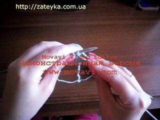 Техника вязания узора