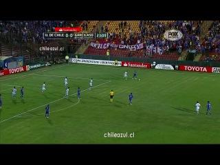Либертадорес 2014 Универсидад де Чили Реал Гарсиласо 1 тайм