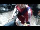 Группа Колебания запись басовой партии на новую песню (25.04.2014)